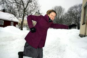 Bollywooddans hör väl inte riktigt hemma i ett vintrigt Askersund, men är en bra träningsform som innehåller mycket glädje, berättar Josefin Wikström.