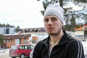 Oskar Olsson, 20-årig anfallare i Bollnäs, svarade för en bra insats i den första kvartsfinalen mot Västerås – och svarade för ett av målen.