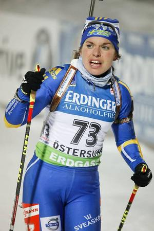 Elisabeth Högberg, boende i Östersund, men ursprungligen från Jädraås i Gästrikland, har haft en bra sommar. Damernas förbundskapten Marko Laaksonen tror det kan gå undan för Högberg i helgen.Arkivbild: Olof Sjödin