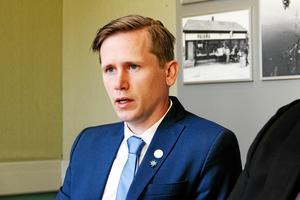 Roger Hedlund hamnar på plats 24 på riksdagslistan, skriver SD i ett pressmeddelande. Bild: arkiv