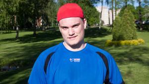 Victor Blom hyllas av FAIK:s sportchef Stefan Persson.
