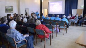 Många mötte upp när Idre Fjäll bjöd in till möte inför den stundande vintern.
