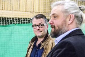 Söderhamns Gymnastikförening hyr en bana i tennishallen från 1 maj. En lösning som klubbens ordförande Johan Wicksell är nöjd med, detsamma gäller för kultur- och fritidschefen Anders Uddén.