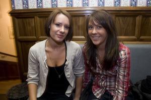Pitchers: Martina och Alexandra