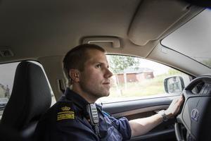 David Redin är biträdande närpolischef i närpolisområde öst (Bräcke och Ragunda) samt Ånge.