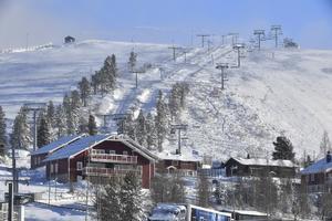 Snö och vintern har kommit till Idre Fjäll.