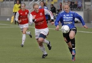 Frida Sjöberg gör comeback i den blå ÖDFF-tröjan redan i helgen borta mot Korsnäs.