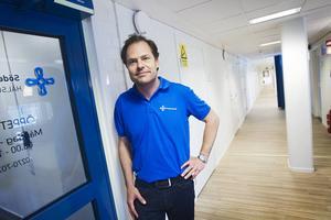 Robert Hill är vd för Söderhamnsföretaget Doktorama som driver länets mest omtyckta hälsocentraler.