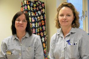 Välkomnar förändringen. I det stora hela är Annelie Eriksson och Jessica Andersson nöjda med flytten till nya lokaler.