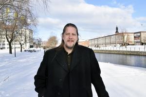 Patrik Liljeglöd, Vänsterpartiets länsordförande i Dalarna.