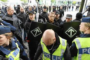 På söndagen genomförde Nordiska Motståndsrörelsen en demonstration i Göteborg utan att ha tillstånd.