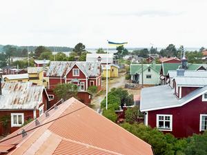 Ön Rönnskär i Söderhamns skärgård fick besök av holländsk fiske-tv.