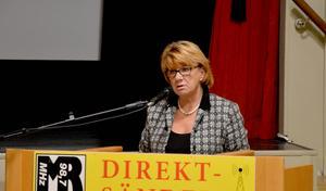 Ingrid Kjelsson (C) menar att läget är spännande just nu när det återstår en vecka tills det politiska styret ska vara klart men inget är spikat än.