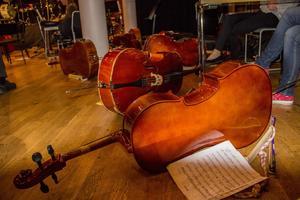 Instrumenten är många på Kulturskolan.