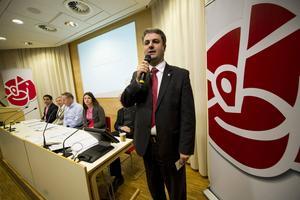 Dåvarande partisekreterare Ibrahim Baylan kommenterade kriskommissionens rapport Omstart för Socialdemokratin den 15 februari 2011.