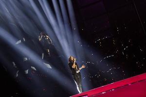 Maria Jaremtjuk tävlar för Ukraina med låten