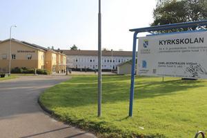 Kyrkskolan i Ludvika. Arkivbild.