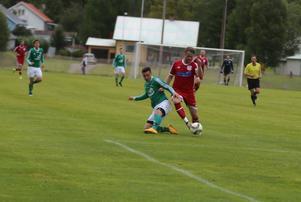 Gustav Bromée hade bra kontroll på bollen.