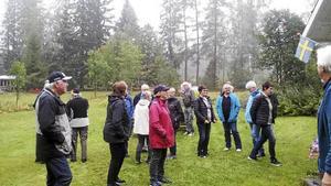 Det var många intresserade vid kulturarvsdagen i Wij fäbodar.