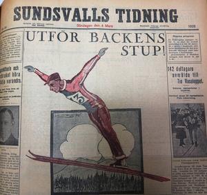 Redan 1928 utkom ST med en söndagstidning, som en engångsföreteelse.
