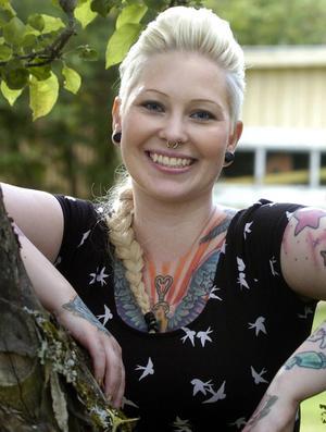 Författaren Anna Hansson.