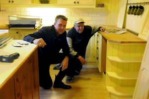 Kök är en av de produkter som tillverkas vid Vansbro snickeri.