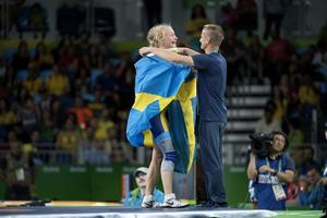 Arbogatränaren Patrik Magnusson var med och coachade Sofia Mattsson till OS-medalj under förra sommaren.