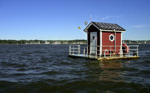 Fick bygglov. Men Utter Inn måste förtöjas ordentligt så att det inte sliter sig igen.Foto: Rune Jensen