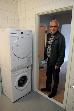– Vi har mycket hög standard i lägenheterna, poängterar Jörgen Israelsson, Vansbrohem.