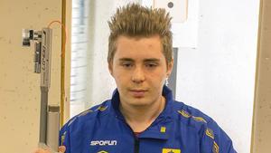 Alexander Lindfors, skjuter final i Bologna.