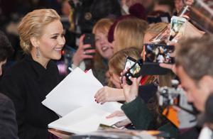 För Jennifer Lawrence har livet förändrats sedan hon först började spela Katniss.