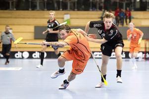 Johannes Skog gjorde sitt första mål för säsongen när han gav IBF Falun ledningen med 1–0 på straff.
