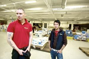 Jonas Norling, till vänster, och Johan Nykvist går ut i arbetslöshet och har inget nytt på gång.