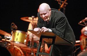 Henrik Dorsin föreläste i konserthuset.