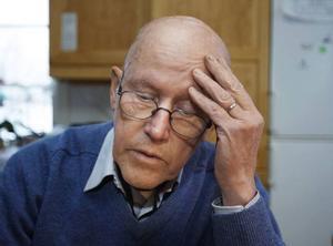 Olle Persson, 75 år, hade en tung dag igår sedan han tagit beslutet att låta sitt företag Byggelit gå i konkurs.