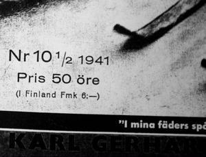 Det censurerade nummer 10 följdes av extranumret 10 1/2 där kritiken mot Hitler inte fanns med