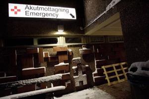 Akutmottagningen i Östersund har haft ett högt tryck sedan annandagen, och måndagen den 30 december togs sammanlagt 148 patienter om hand.