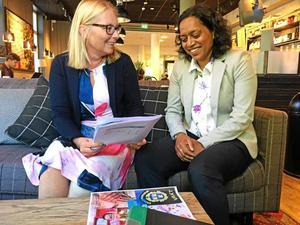 Eliisabeth Unell och Anna Hård af Segerstad (M) vill avveckla det kommunala bolaget Västerås strategiska fastigheter.