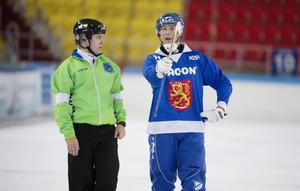 Samuli Helavuori under VM i Chabarovsk förra året.