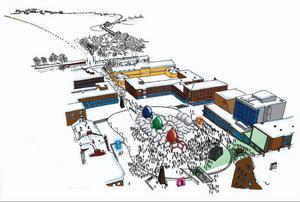 Stortorget blir som en jättelik lekpark med en rad aktiviteter och anläggningar under Vinterfestivalen som drar igång 27 januari.