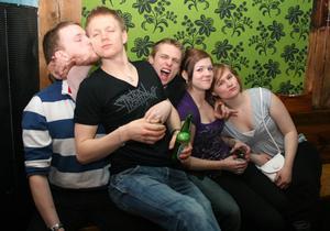 Konrad. Jimmy, Cristoffer, Ante, Gabriella och Johanna