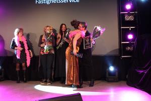 Katarina Fyhr fick ta emot utmärkelsen Årets företagsamma kvinna.
