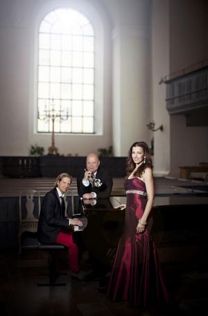 Magnus Johansson, Sonja Aldén och Marcos Ubeda.