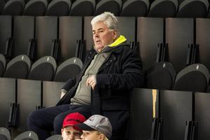 Leif Lidström på plats i Sundsvall Energi Arena.