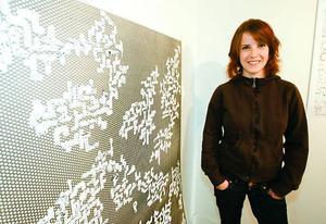 Ida Rödéns konst är en spännande kombination av text, bild, teknik och interaktion.