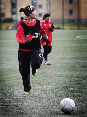 Camilla Persson är en av dem som står för rutinen i ett ungt Kilafors.
