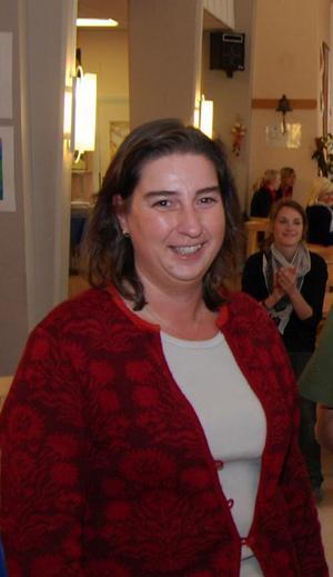 Lotten Klück, rektor för Furudals skola är mycket glad över skolans resultat.