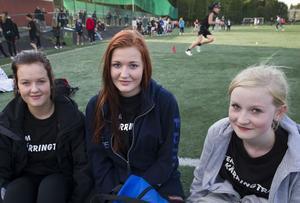 Jessica Regnell, Tina Jansson och Elin Axberg trodde på sitt lag, Team Kärringträ.