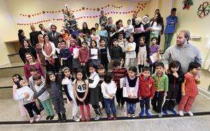 Sista skoldagen för elever och personal i Trängslets skola.