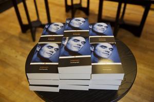Morrisseys självbiografi.